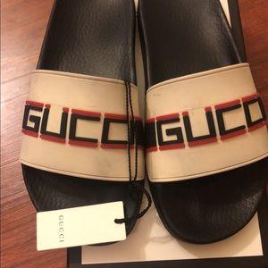 Gucci Slides Women's Size 38 US 8